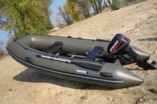 Пластиковые и надувные моторные лодки для рыбалки