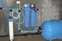 Как подключить скважину к дому? Схемы и видео