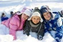 Развлечения детей зимой в младшей, средней и старшей группе детского сада