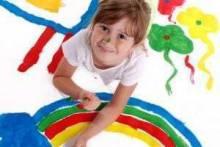 Как научить ребенка рисовать: поэтапное обучение, рисование красками, видео