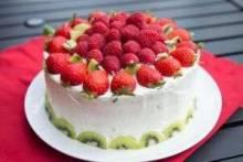 Украшение тортов фруктами в домашних условиях: идеи, фото, мастер-классы