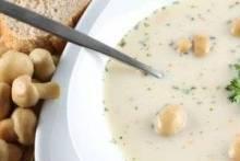 Грибной суп-пюре из шампиньонов: утонченность, вкус, польза