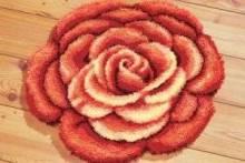 Вышивка ковров крючком
