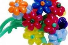 Как сделать цветок из шарика-колбаски: моделируем интересные композиции сами