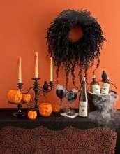 Хэллоуин: идеи декора помещений к празднику