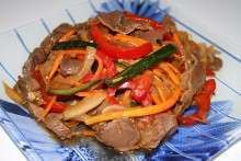 Желудочки, печень, ушки и легкие по-корейски: рецепт блюд