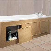 Экран для ванны. Как и из чего сделать своими руками?