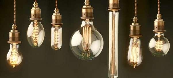 Винтажные лампы Эдисона: основные характеристики и использование