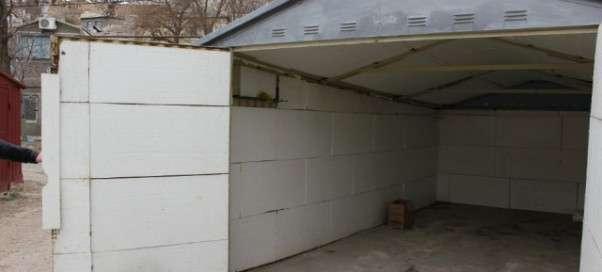 утепление железного гаража своими руками