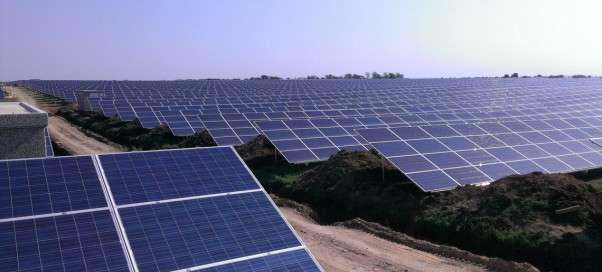 Увеличение солнечной энергетики Китая