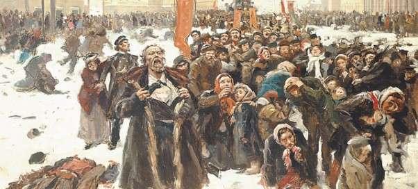 николай 2: расстрел демонстрации