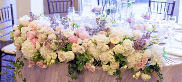 Искусственные цветы для декора свадьбы