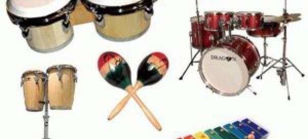 Виды ударных музыкальных инструментов