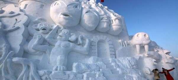 Снежные скульптуры мира