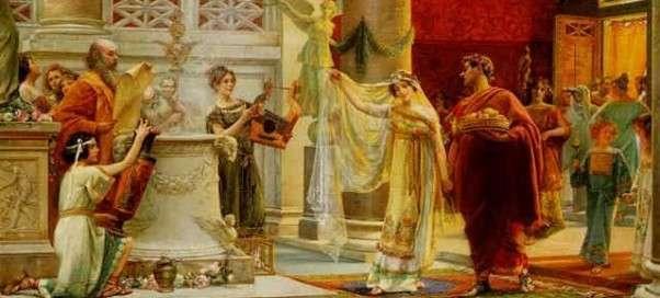 Римская семья – эволюция семейных отношений
