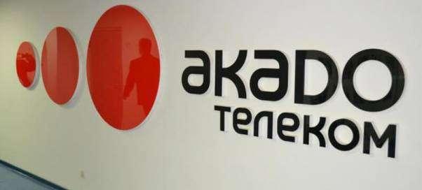 Как оплатить Акадо телеком через банковскую карту?