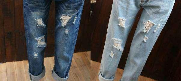 Как сделать джинсы светлее?