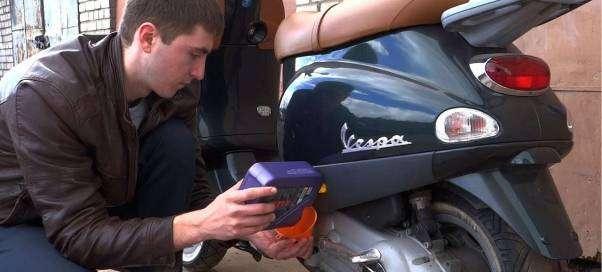 Как заменить масло в скутере
