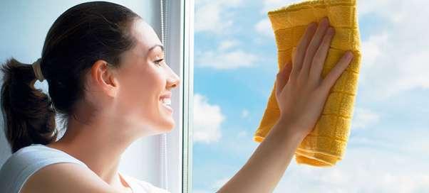 Как вымыть окна без разводов?
